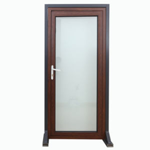 Double Glazing Aluminum Thermal Break Sliding Doors pictures & photos