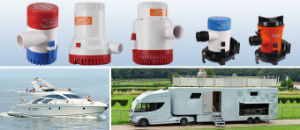 12V Auto Submerged Centrifugal Pump with Floating Switch for Sale pictures & photos