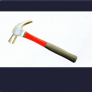 British-Type Claw Hammer with Finer Glass Handles pictures & photos
