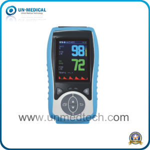 Portable Handheld Digital Pulse Oximeter with Alarm Function pictures & photos