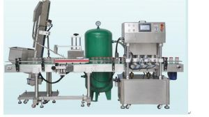 Fully Automatic Glass Bottle Vacuum Capping Machine pictures & photos