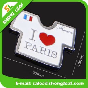 Factory Promotional Customized Logo Printed T Shirt Metal Fridge Magnet pictures & photos