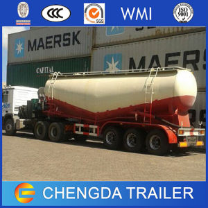 Bulk Cement Power Material Transport Semi Trailer with Air Compressor pictures & photos