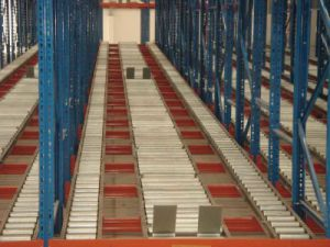 Gravity Warehosue Steel Storage Racking pictures & photos