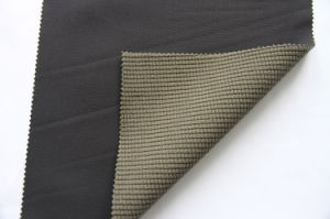 3-Layers Laminated Grid Softshell Fabric pictures & photos