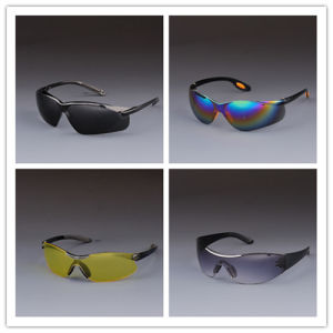 High Quality PC Lens Eyewear/Safety Glasses with CE/ANSI Certificate pictures & photos