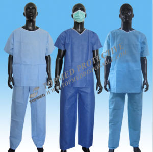 Surgical Suits, Doctor Suits, SMS Disposable Surgeon Suits pictures & photos