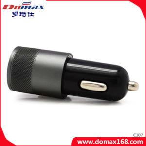 Mobile Phone 2 USB Metal Travel Car Charger Hummer Dual pictures & photos