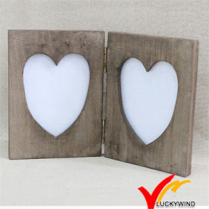 White Wooden Vintage Home Decoration Collage Photo Frame pictures & photos