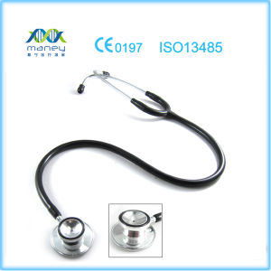 Deluxe Maney Medical Dual Head Stethoscope (MN-MS411) with Chrome Plated pictures & photos