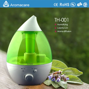 Aromacare Colorful LED Light Big Capacity 2.4L Handheld Humidifying (TH-001) pictures & photos
