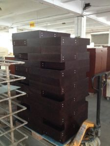 Red Cherry Solid Wood Storage Cabinets pictures & photos