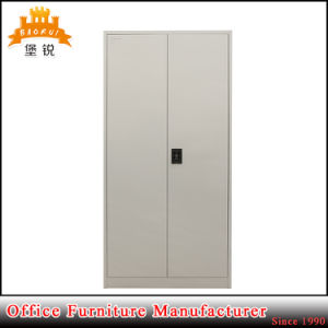 Home Wardrobe Furniture Metal Clothes Storage Cabinet Closet with Hanging Rod pictures & photos