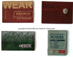 Design You Own Kinds of Patch Leather pictures & photos