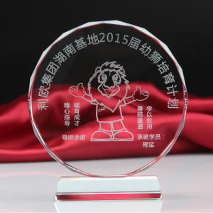 Wholesale Facet Crystal Blank Medal Trophy Awards for Souvenir Gifts pictures & photos