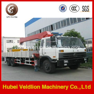 Dongfeng 6X4 10ton Telescopic Boom Truck with Crane pictures & photos