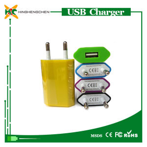 USB Mobile Travel Charger Single USB Wall Charger EU Adapter pictures & photos