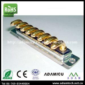 Machine Pin D-SUB Right Angle 8p 8W8 Connector