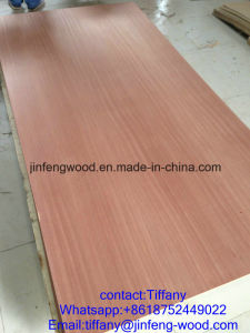 China Factory Produce and Exported to Jordan Market Use for Furniture Nature Sapele Veneer MDF/Plywood /Block Board pictures & photos