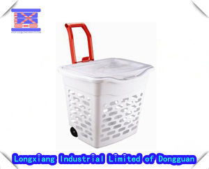 New Design Durable Plastic Injection Laundry Basket Mould pictures & photos