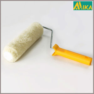 15mm Yellow Polyester Paint Roller with Handle (Tube system)