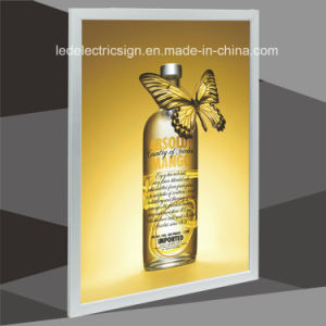 HK Electronic Sign with Picture Frame Poster Frame for Slim LED Light Box pictures & photos