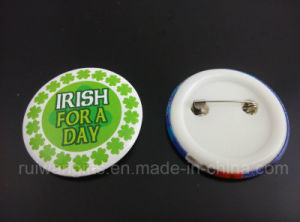 Promotional Round Tin Badge, Pin Tinplate Badge for Souvenir pictures & photos