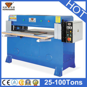 Hg-A30t Four Column Hydraulic Textile Cutting Machine pictures & photos