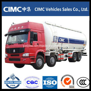 HOWO 8*4 35cbm Cement / Powder Tank Truck pictures & photos