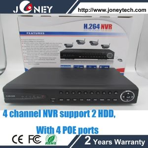 720p/960p/1080P Realtime Recording & Playback Onvif NVR 1080P 4channel 1080P Recording Onvif Poe 1CH 1080P Playback pictures & photos