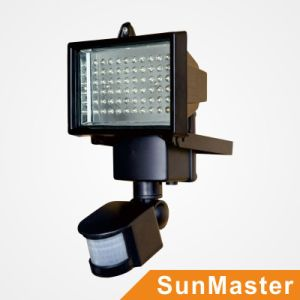Solar Outdoor Flood Billboard Light with Motion PIR Sensor pictures & photos
