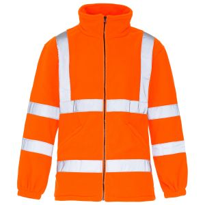 High Visibility Reflective Fleece Jacket with En20471 (C2492) pictures & photos
