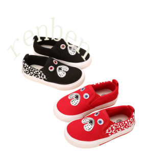 2017 New Arriving Children′s Fashion Canvas Shoes pictures & photos