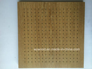 High Pressure Laminate Peforated Wooden Acoustic Panel pictures & photos