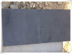 Honed Zhangpu Black Basalt Granite From Chinese Factory pictures & photos