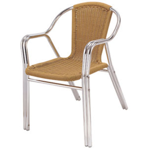 Double-Barreled Aluminum Wicker Chair (DC-06203) pictures & photos