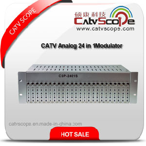 CATV Analog 24 in 1 Fixed Adjacent Channel Combiner Modulator
