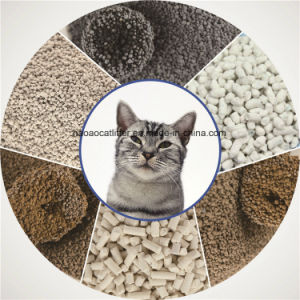 Clean and Clumping Strip Bentonite Cat Litter pictures & photos