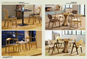 Modern Solid Wood Dining Set pictures & photos