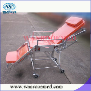 China New Medical Stainless Steel Ambulance Stretcher pictures & photos