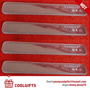 Verious Colors Professional Crystal Glass Nail File with Hard Case pictures & photos