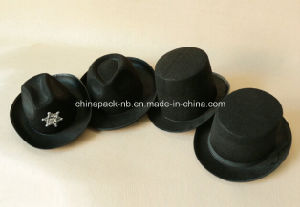 Variety of Black Felt Paty Hats (CPPH-009) pictures & photos