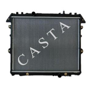Aluminum Toyota car radiator for Toyota Hilux Innova Diesel (04-) pictures & photos