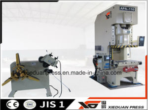 Stamping Production Line, C Frame Press, Feeder, Uncoiler, Straightener pictures & photos