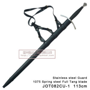 Handmade Medieval Swords with Scabbard 113cm pictures & photos
