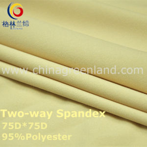 75D Polyester Spandex Dyeing Fabric for Dress Textile (GLLML236) pictures & photos
