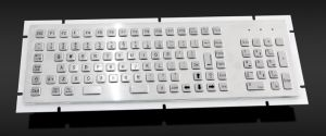 Standard Waterproof Metal Keyboard with Numeric Keypad (KMY299H-3) pictures & photos