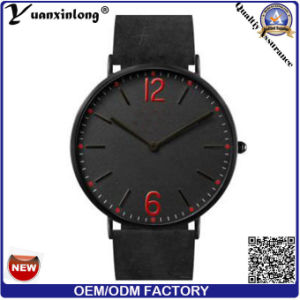 Yxl-742 2016 Men Fashion Custom Logo Watches Wholesale, Watch Genuine Leather, Watch Men Leather pictures & photos