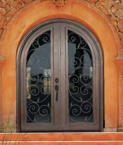 Top Steel Security Door, Metal Door, Iron Entrance Door (UID-D162) pictures & photos