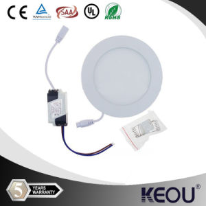 Home Use Energy Saving 9W Thin Round Shape LED Panel pictures & photos
